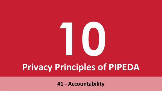 10 Privacy Principles of PIPEDA - 1