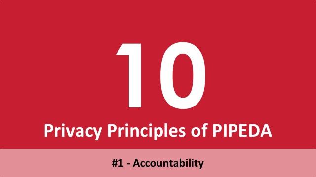 10 Privacy Principles of PIPEDA - 1