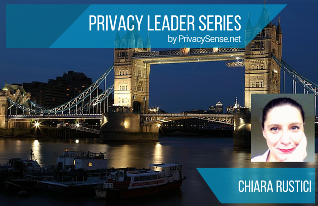 Privacy Leader Series - Chiara Rustici